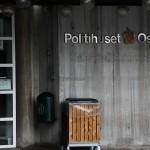 Inngangspartiet til Politihuset på Grønland i Oslo