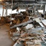 Store skader inne i R4, regjeringskvartalet
