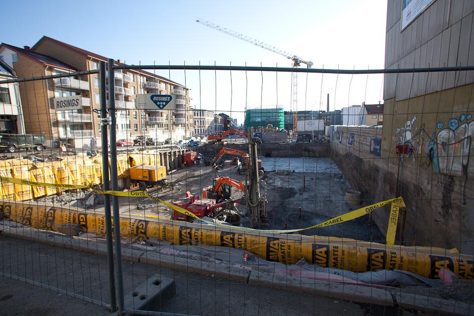 Qben – byggeplass per 23. mars 2013