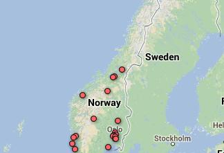 Kart laget av crowdsourcing