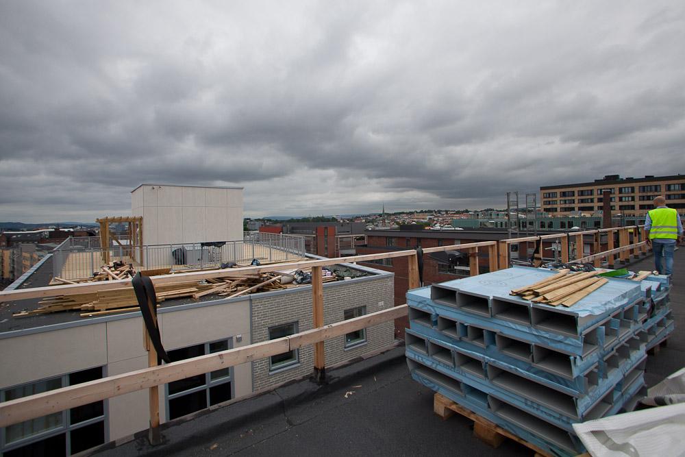 Utsikt fra taket