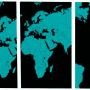 Verdenskart i ulike variasjoner