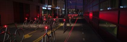 Sykkelstativer i Bjørvika / Barcode